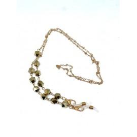 Catenella diamanti bronzo