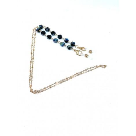 Catenella diamanti blu