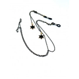 Catenella stelle nere