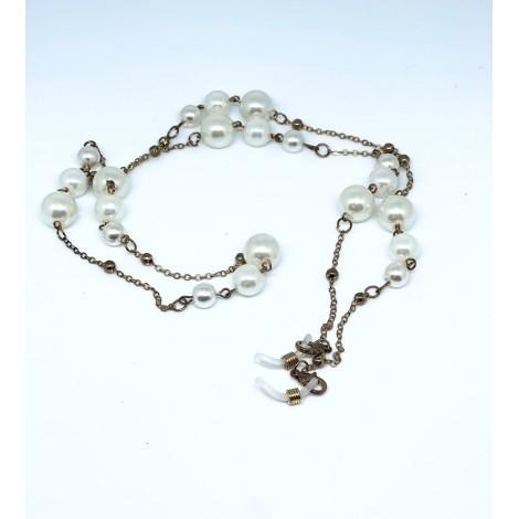 Catenella bronzo perle